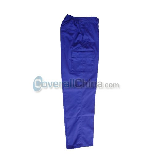 Royal blue work pants- WP001
