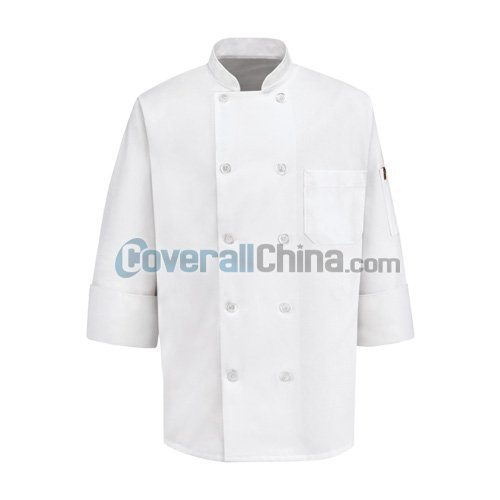 polyester chef coats- CC002