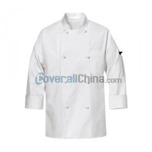 white chef coats