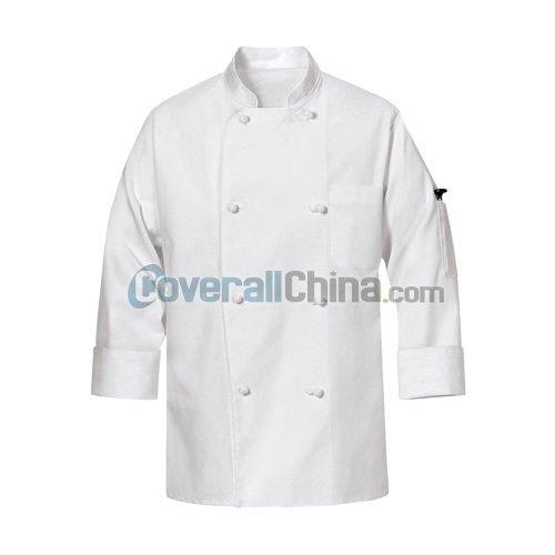 white chef coats- CC001