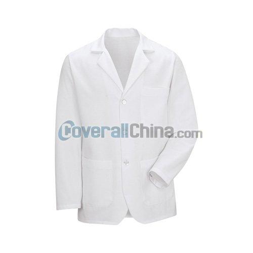 white staff coats- LC003