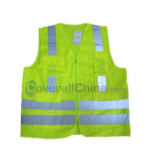 green safety vest- SV010