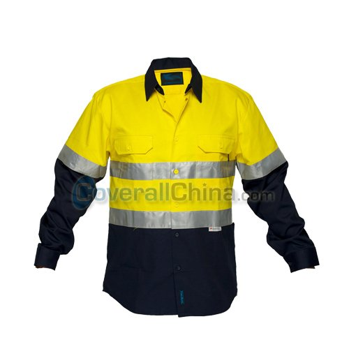 reflective work shirts- WS018