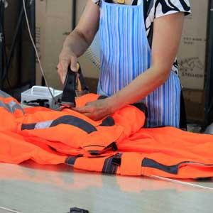workwear packing