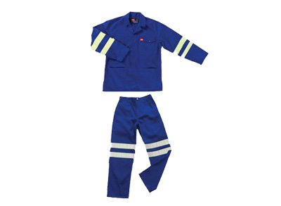 two piece workwear