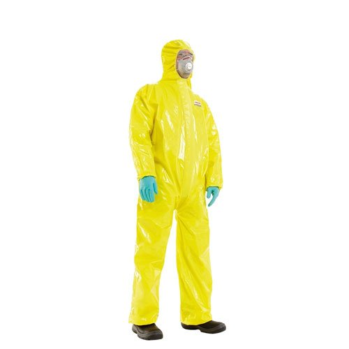 chemical resistant coverall