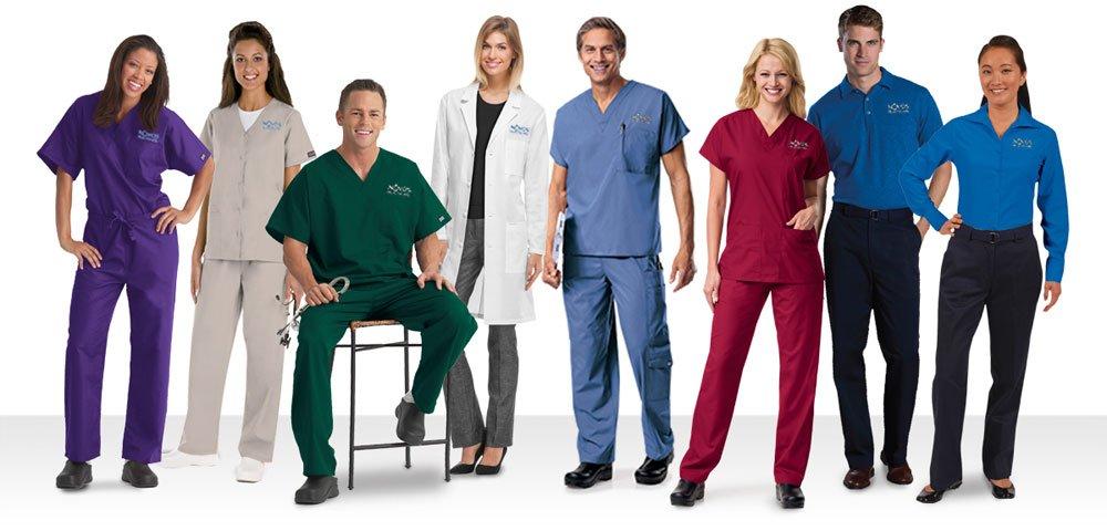 type of scrubs