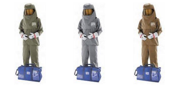arc flash resistant clothing suit