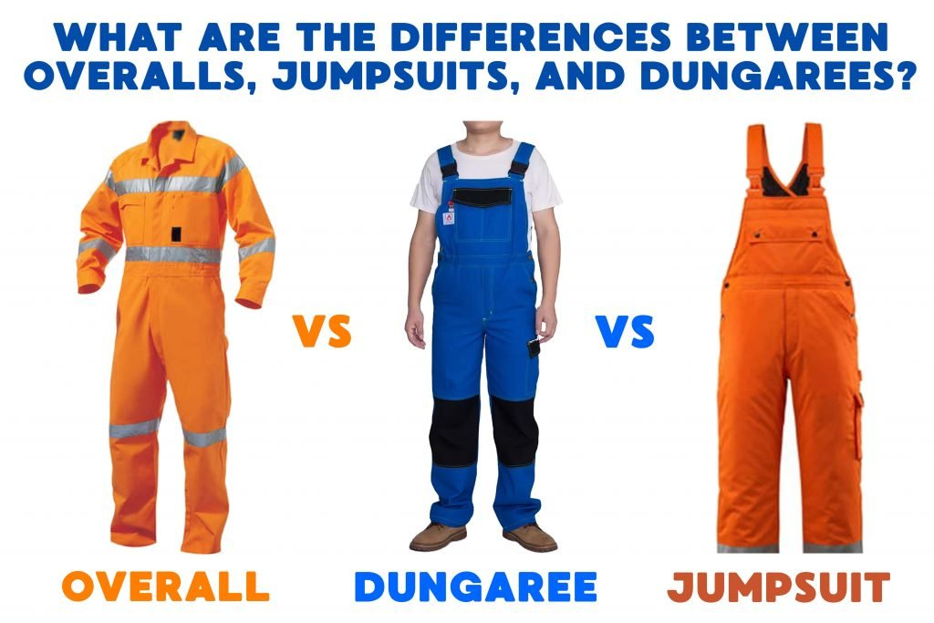 What are the Differences between Overalls, Jumpsuits, and Dungarees
